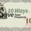 10 maneras de ahorrar sus finanzas en 10 Minutos