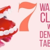 7 maneras de limpiar con la dentadura Tablets