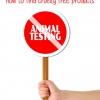 Cómo encontrar productos libres de crueldad