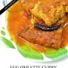 Deliciosa receta de curry de huevo tortilla
