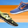 Set Your Feet gratuito Con Zapatos corrientes minimalistas