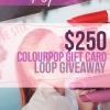 Súper $ 250 ColourPop Instagram Sorteo! Plus Rilastil Skincare Sorteo!