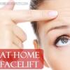 Tratamiento de arrugas - lavado de cara en el hogar